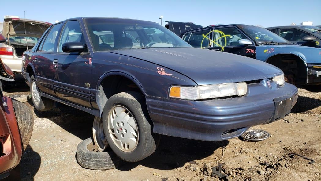 999 - 1996 Oldsmobile Cutlass in Colorado Junkyard - photo by Murilee Martin