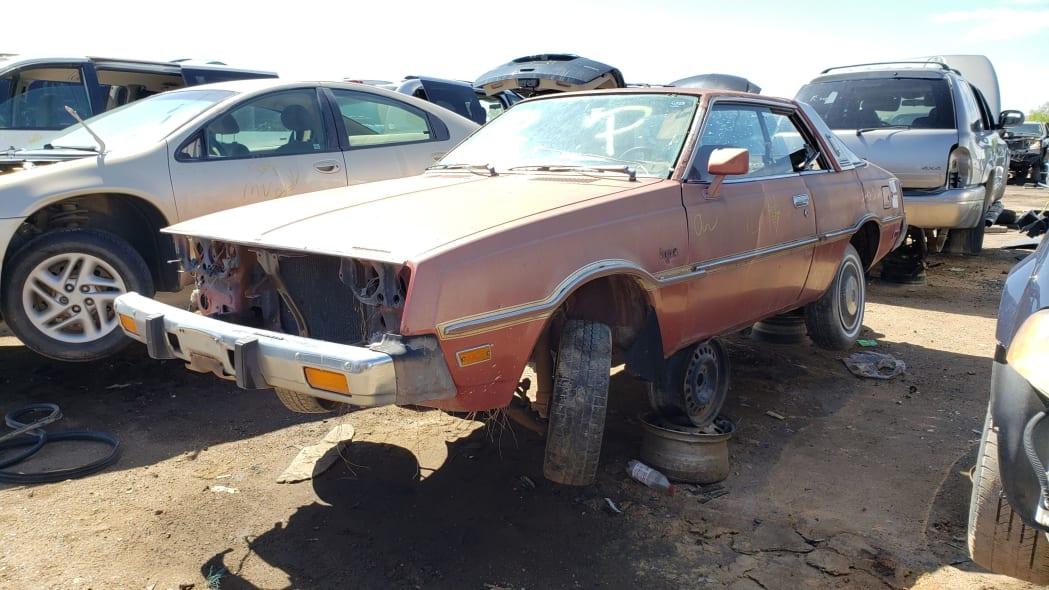 999 - 1978 Plymouth Sapporo in Colorado Junkyard - photo by Murilee Martin