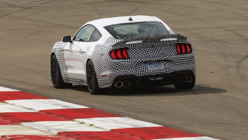 2021 Ford Mustang Mach 1 camouflage
