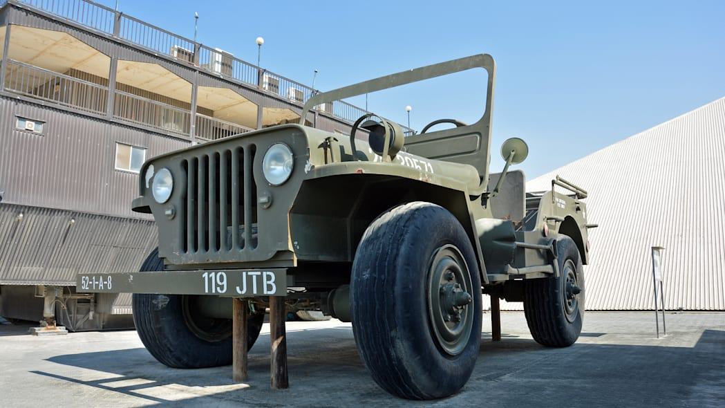 The Rainbow Sheikh's giant Jeep