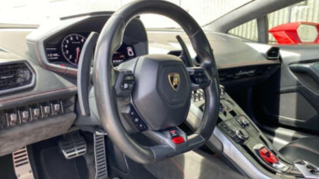 Lamborghini Huracan with 188,000 miles