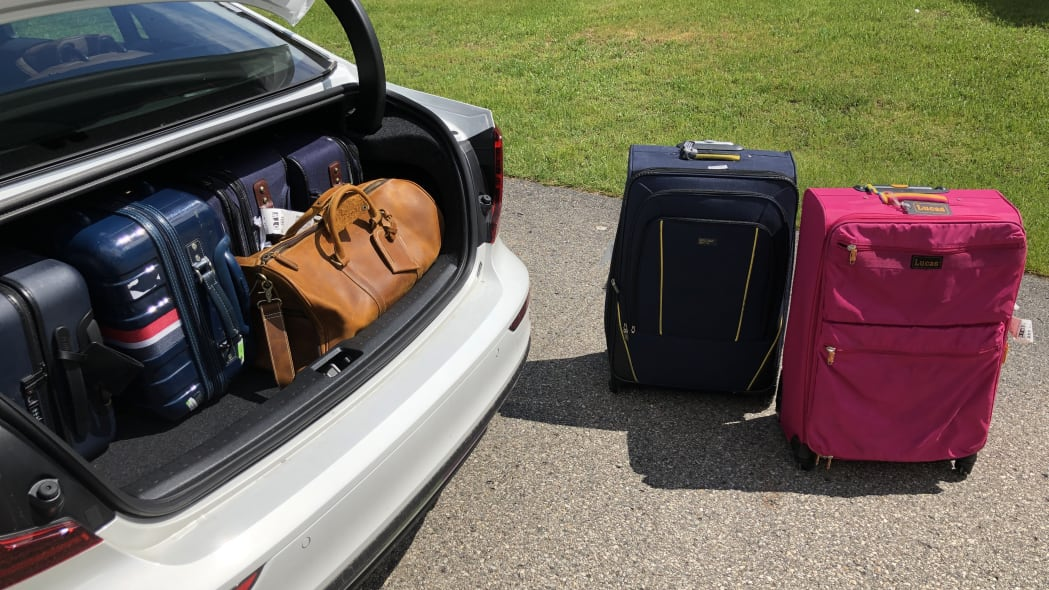 2020 Volvo S60 Luggage Test