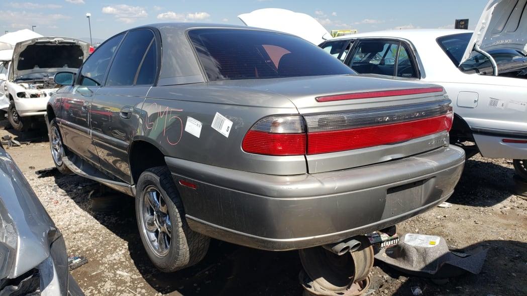 54 - 1998 Cadillac Catera in Colorado Junkyard - photo by Murilee Martin