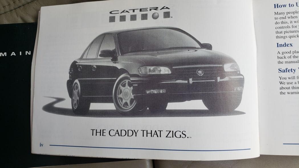56 - 1998 Cadillac Catera in Colorado Junkyard - photo by Murilee Martin