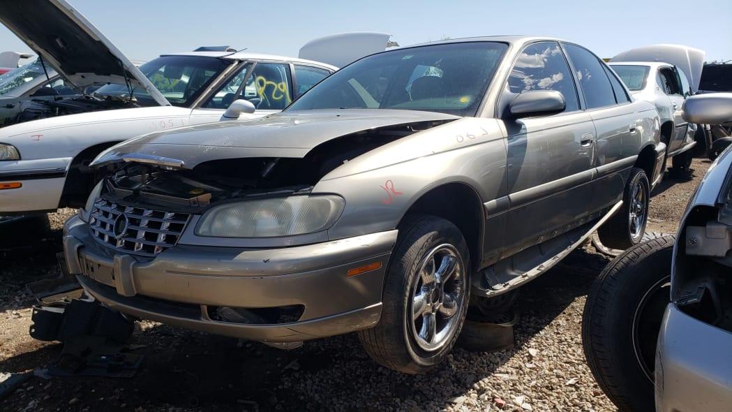 999 - 1998 Cadillac Catera in Colorado Junkyard - photo by Murilee Martin
