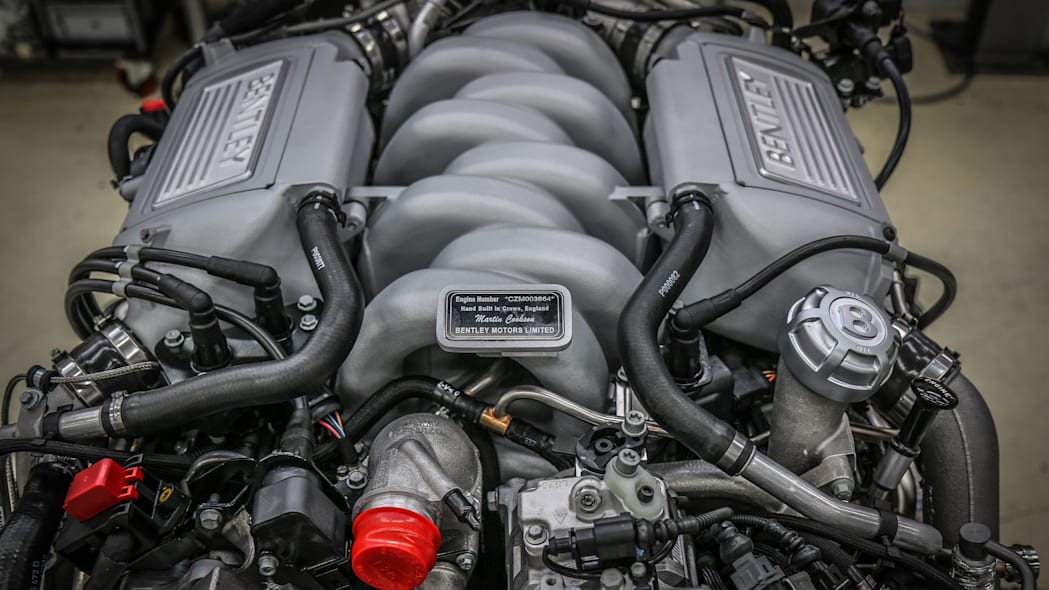 Bentley L-series 6.75-liter V8