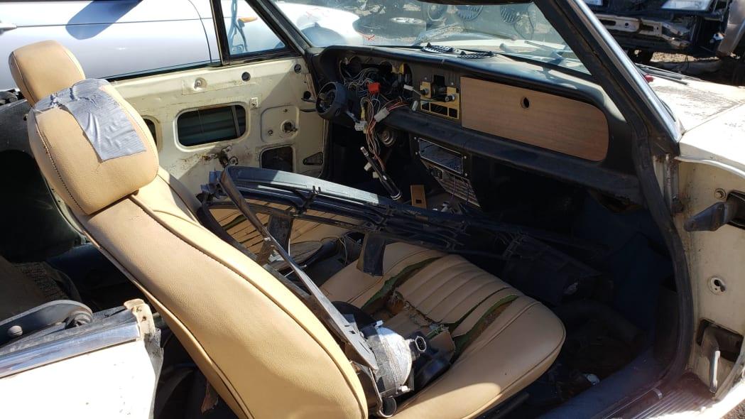 02 -1975 Fiat 124 Sport Spider in Colorado Junkyard - photo by Murilee Martin