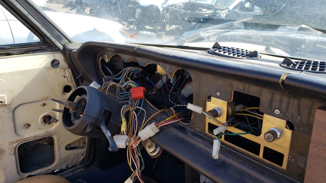 04 -1975 Fiat 124 Sport Spider in Colorado Junkyard - photo by Murilee Martin