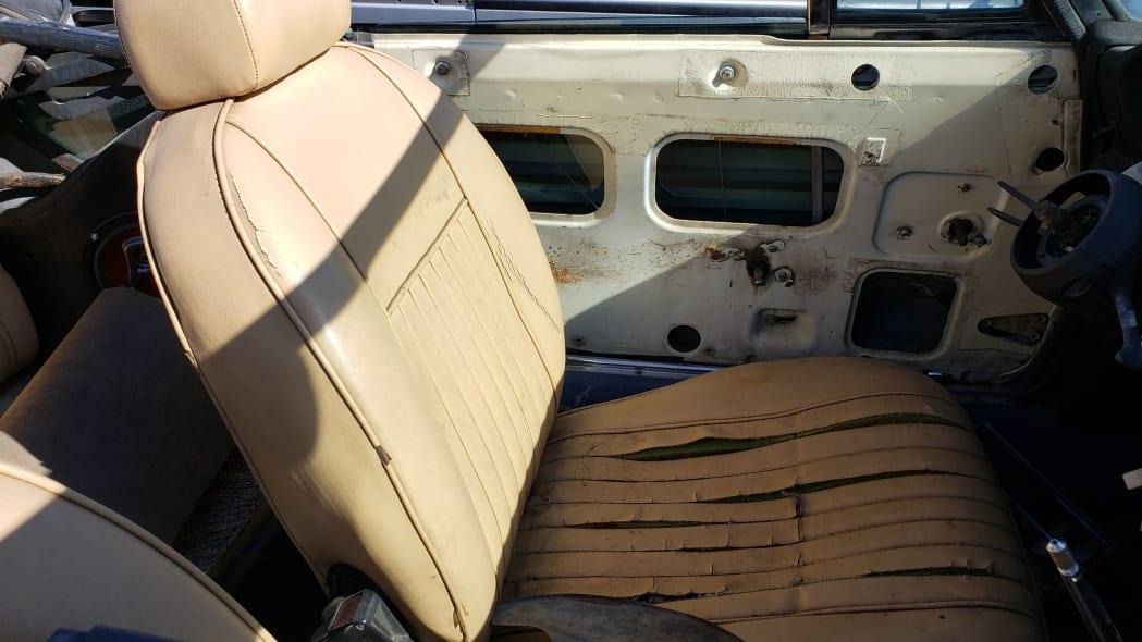 05 -1975 Fiat 124 Sport Spider in Colorado Junkyard - photo by Murilee Martin