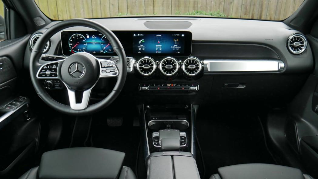 2020 Mercedes GLB 250 interior