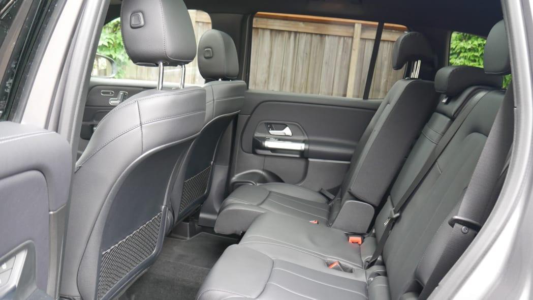 2020 Mercedes GLB 250 sliding back seat