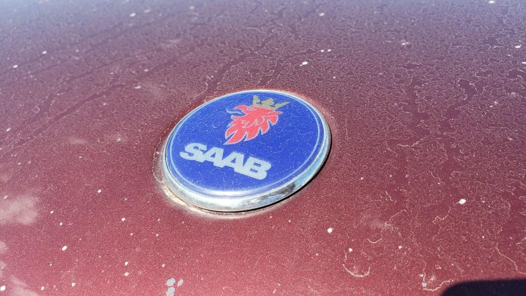 11 - 2004 Saab 9-5 wagon in Colorado Junkyard - photo by Murilee Martin
