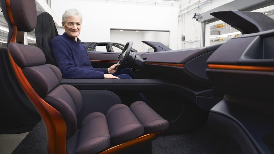 James+Dyson+and+Car+interior