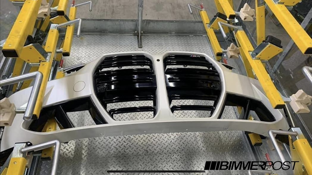 2021 BMW M4 Front Bumper