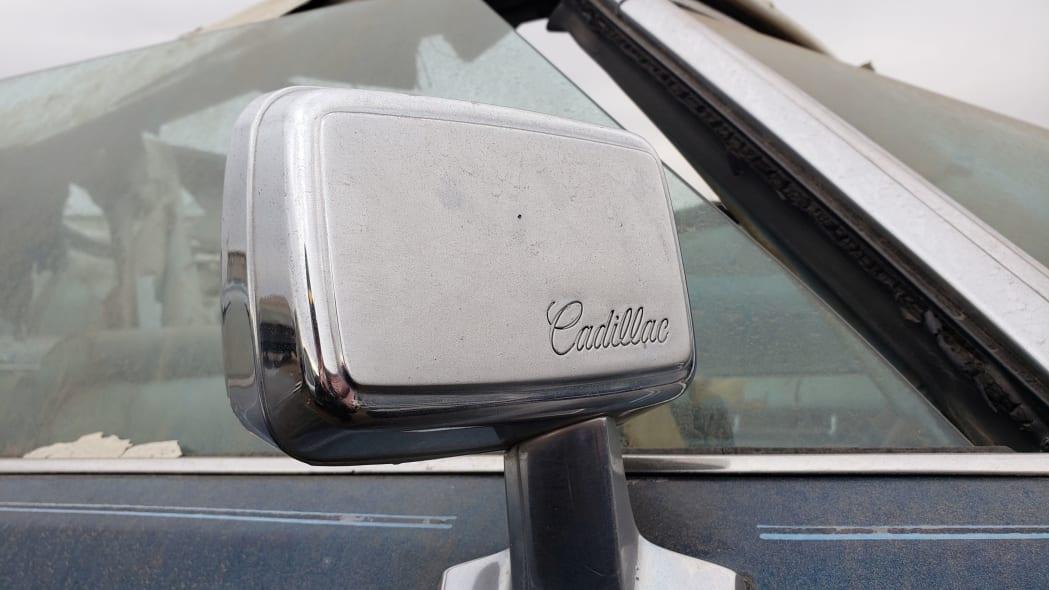 27 - 1976 Cadillac Eldorado Convertible in Colorado Junkyard - photo by Murilee Martin