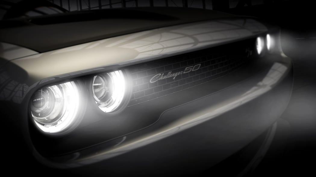 2020 Dodge Challenger 50th Anniversary Commemorative Edition