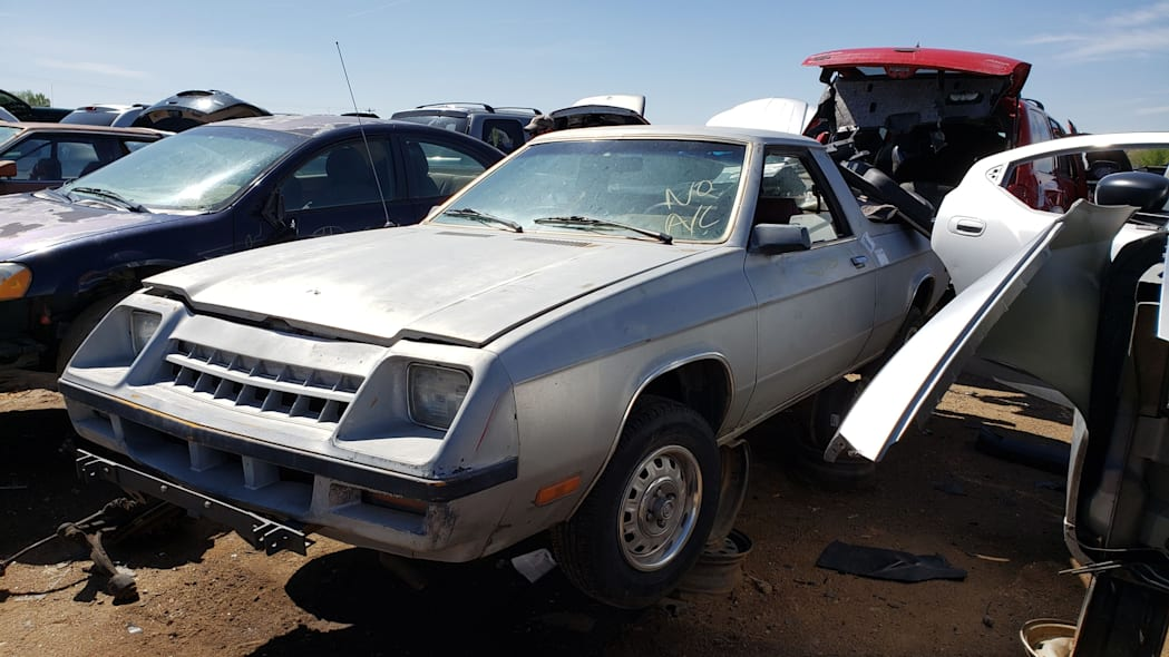11 - 1983 Plymouth Scamp in Colorado Junkyard - photo by Murilee Martin
