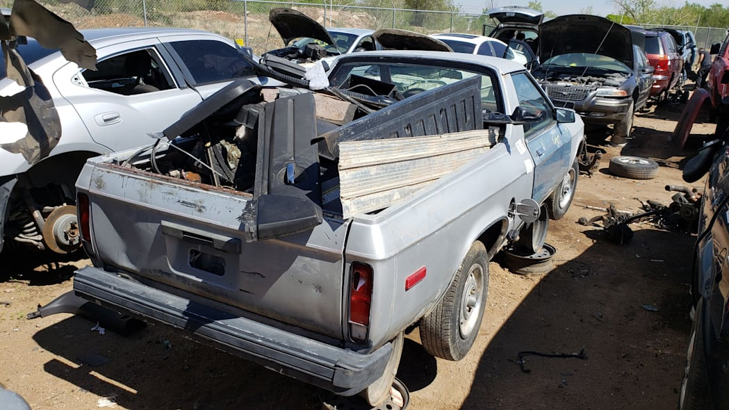 32 - 1983 Plymouth Scamp in Colorado Junkyard - photo by Murilee Martin