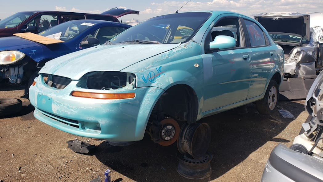 999 - 2005 Chevrolet Aveo in Colorado Junkyard - photo by Murilee Martin