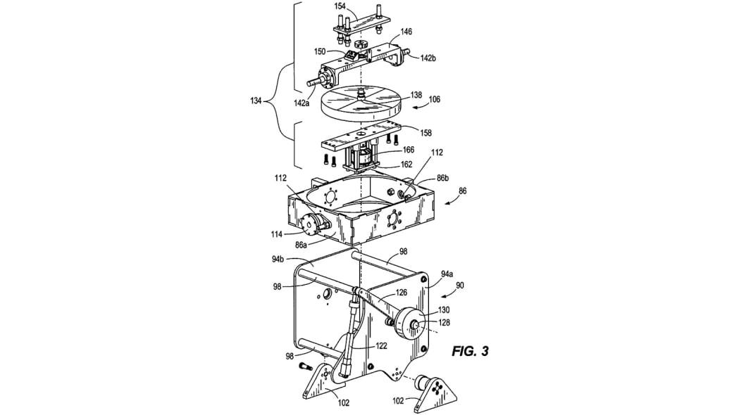 Harley-Davidson self-balancing motorcycle patent
