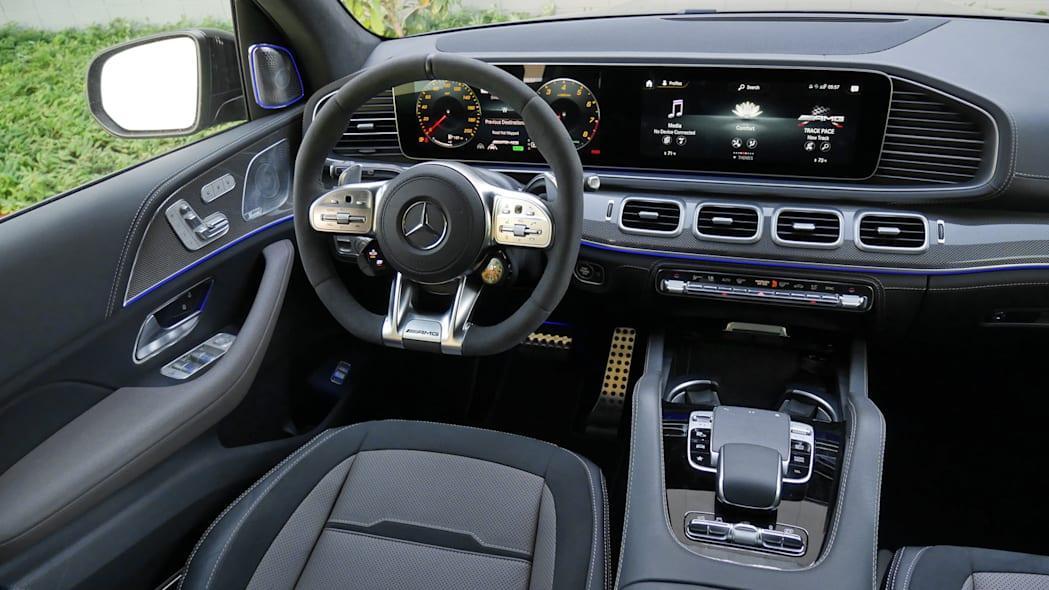 2021 Mercedes-AMG GLS 63 dash