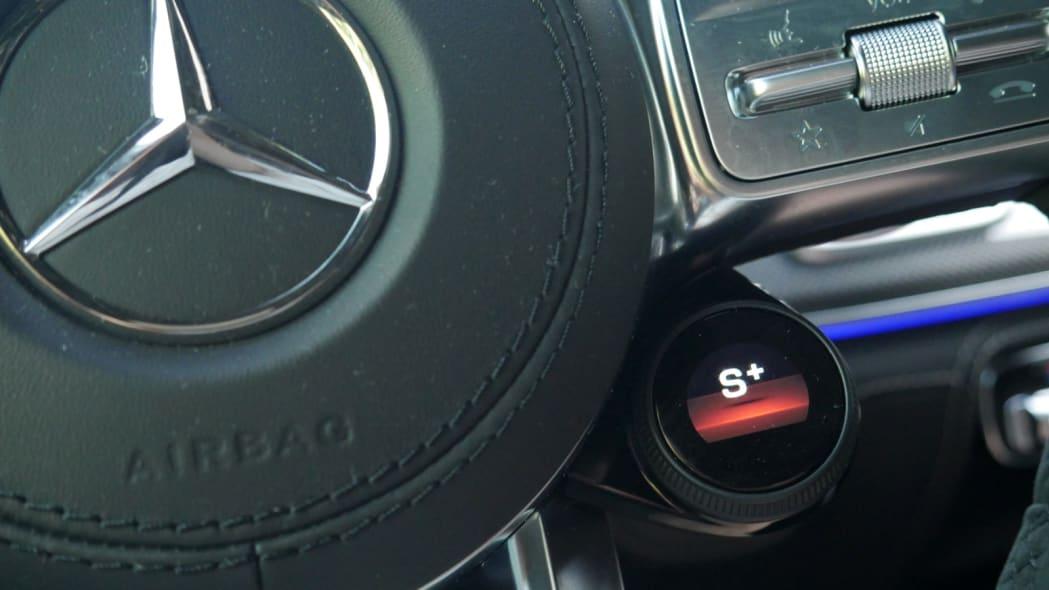 2021 Mercedes-AMG GLS 63 drive mode control