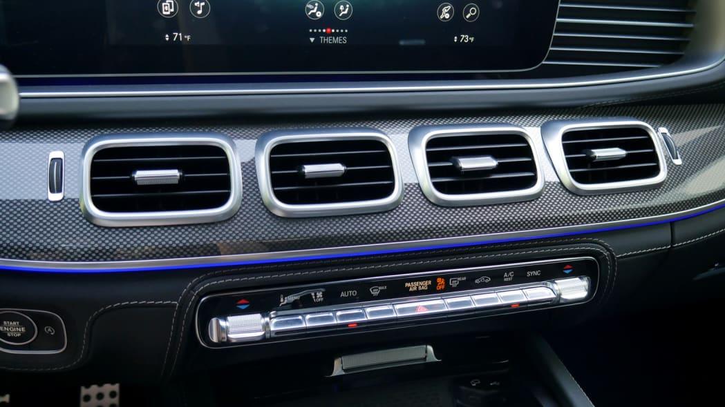2021 Mercedes-AMG GLS 63 HVAC