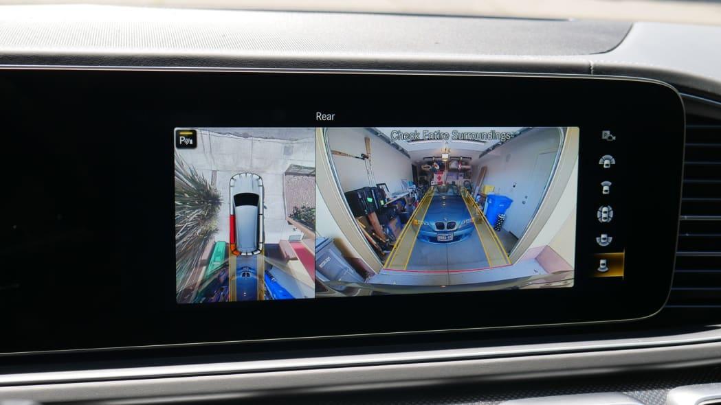 2021 Mercedes-AMG GLS 63 rearview camera
