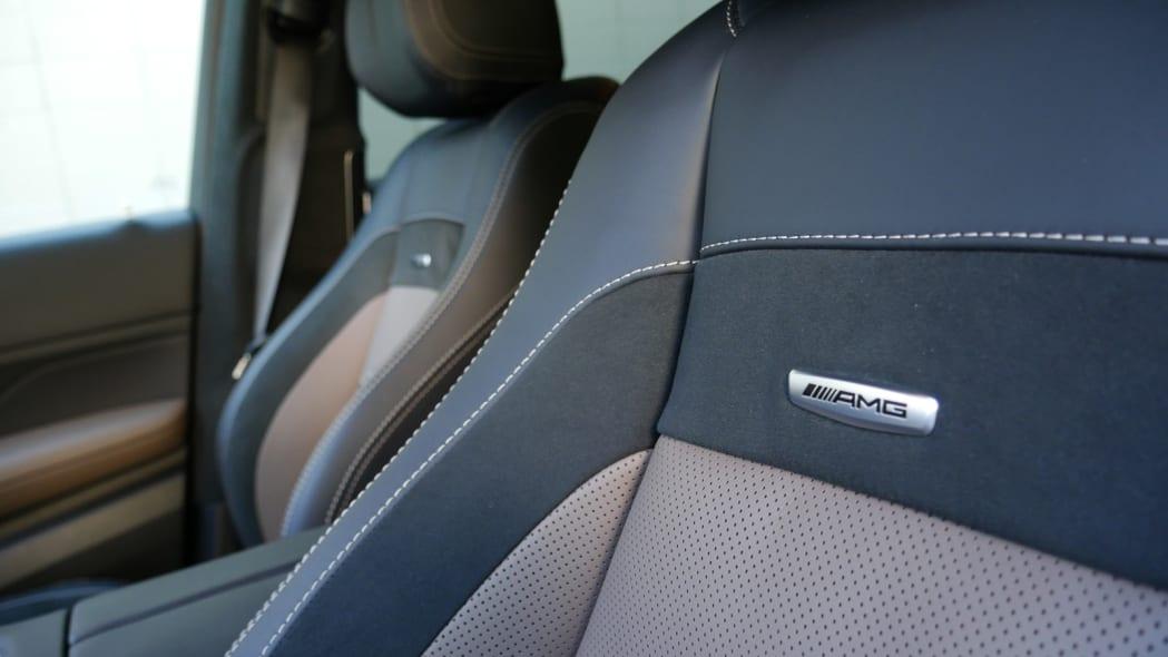 2021 Mercedes-AMG GLS 63 seat detail