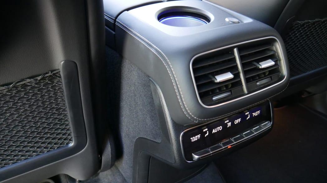 2021 Mercedes-AMG GLS 63 second row HVAC