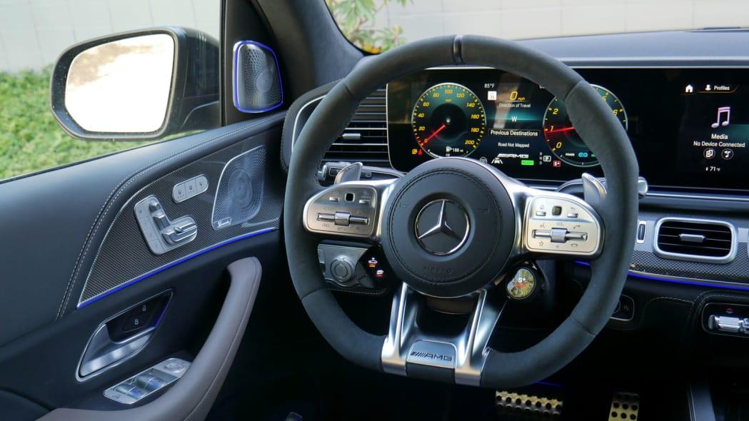 2021 Mercedes-AMG GLS 63 steering wheel