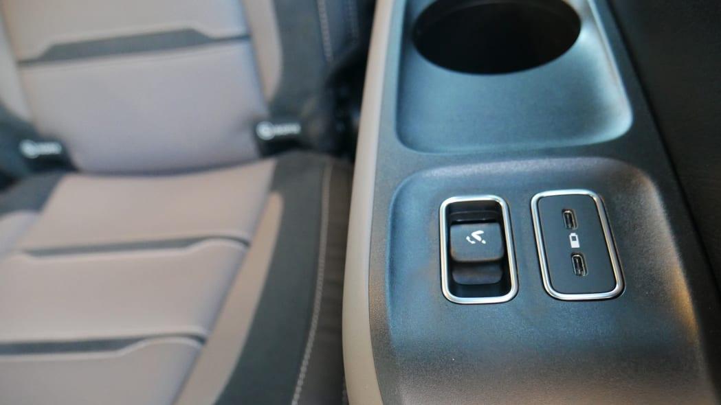 2021 Mercedes-AMG GLS 63 third row controls