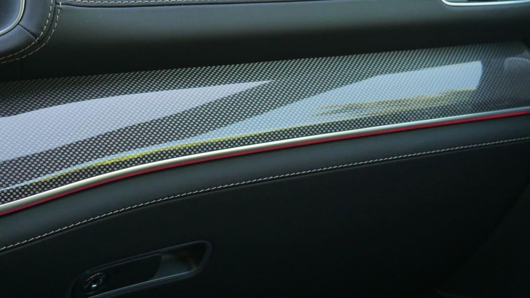 2021 Mercedes-AMG GLS 63 ambient lighting red