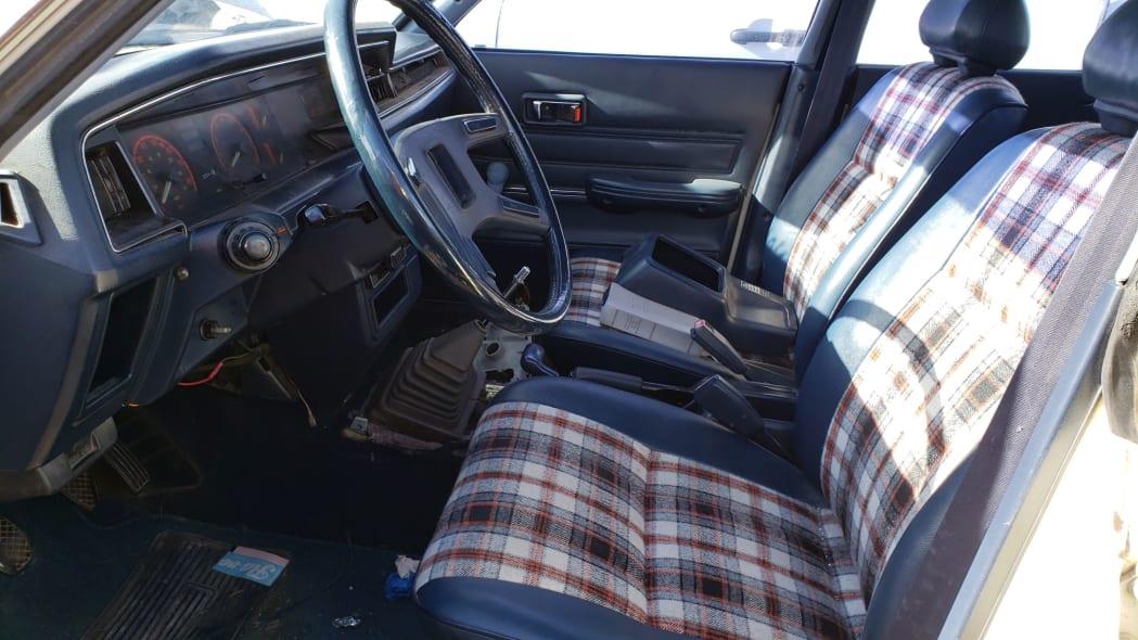 06 - 1982 Subaru GL in Colorado Junkyard - photo by Murilee Martin