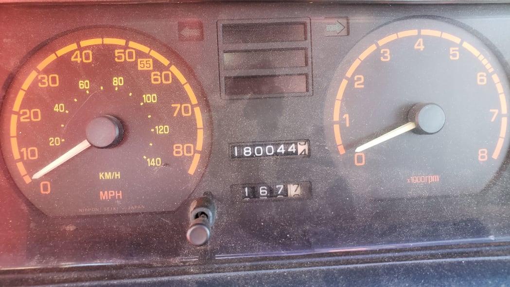 08 - 1982 Subaru GL in Colorado Junkyard - photo by Murilee Martin