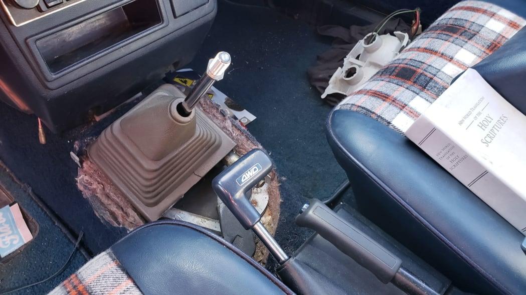 10 - 1982 Subaru GL in Colorado Junkyard - photo by Murilee Martin