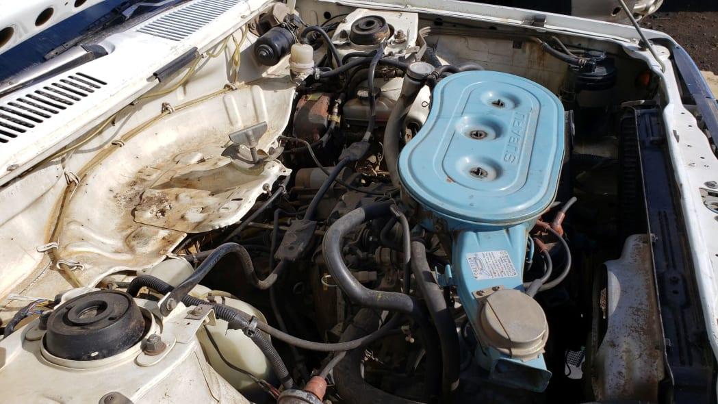 25 - 1982 Subaru GL in Colorado Junkyard - photo by Murilee Martin