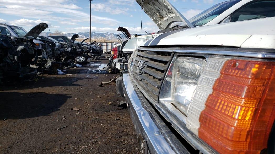 35 - 1982 Subaru GL in Colorado Junkyard - photo by Murilee Martin