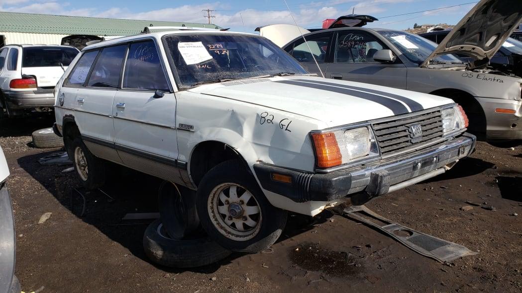 42 - 1982 Subaru GL in Colorado Junkyard - photo by Murilee Martin