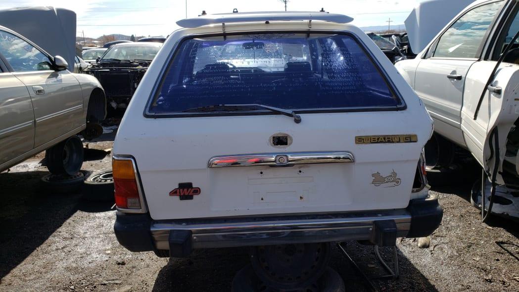 52 - 1982 Subaru GL in Colorado Junkyard - photo by Murilee Martin