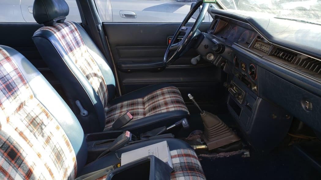 56 - 1982 Subaru GL in Colorado Junkyard - photo by Murilee Martin