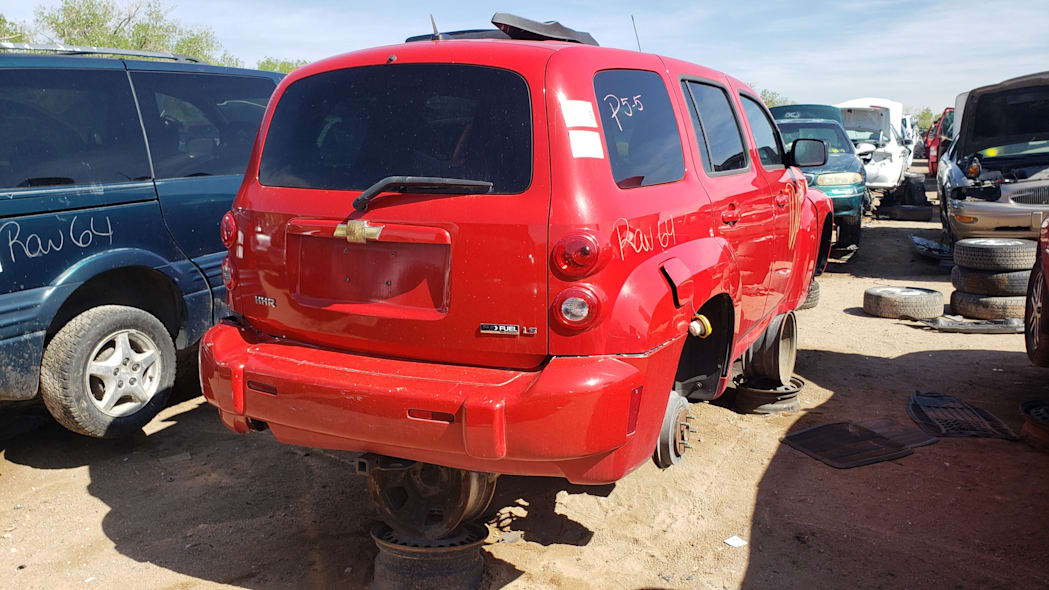 29 - 2009 Chevrolet HHR in Colorado Junkyard - photo by Murilee Martin