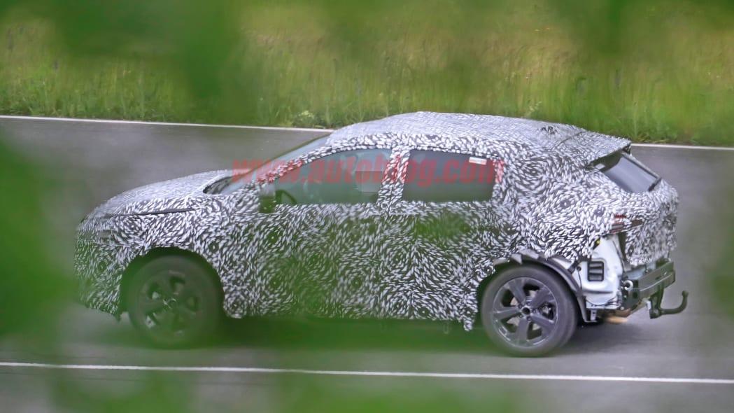 Nissan Rogue Sport spied