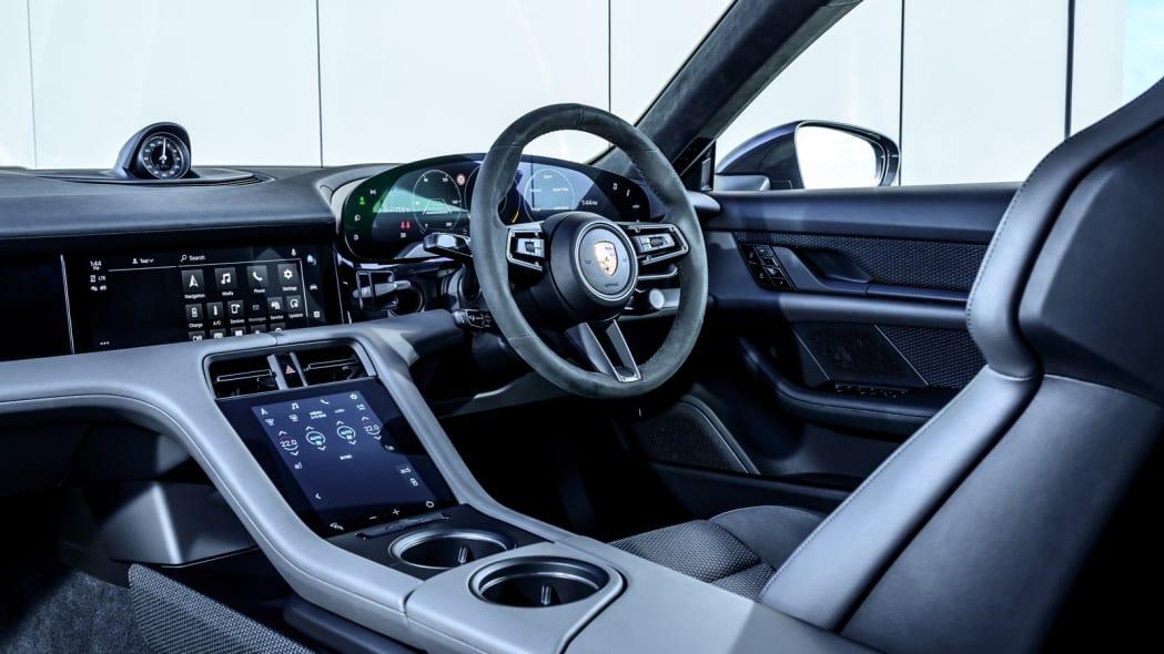 2020 Porsche Taycan Turbo interior