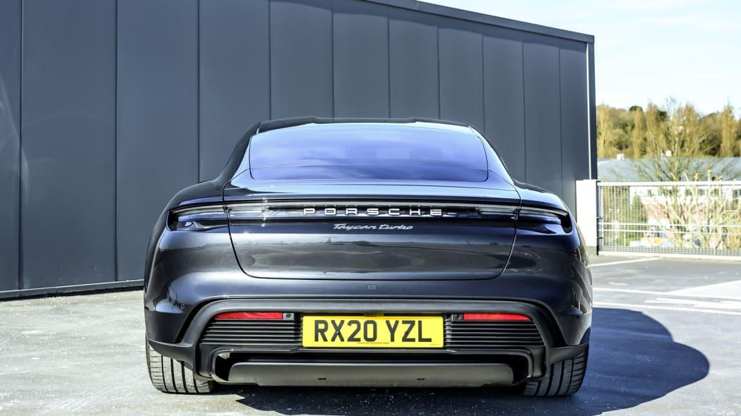 2020 Porsche Taycan Turbo rear