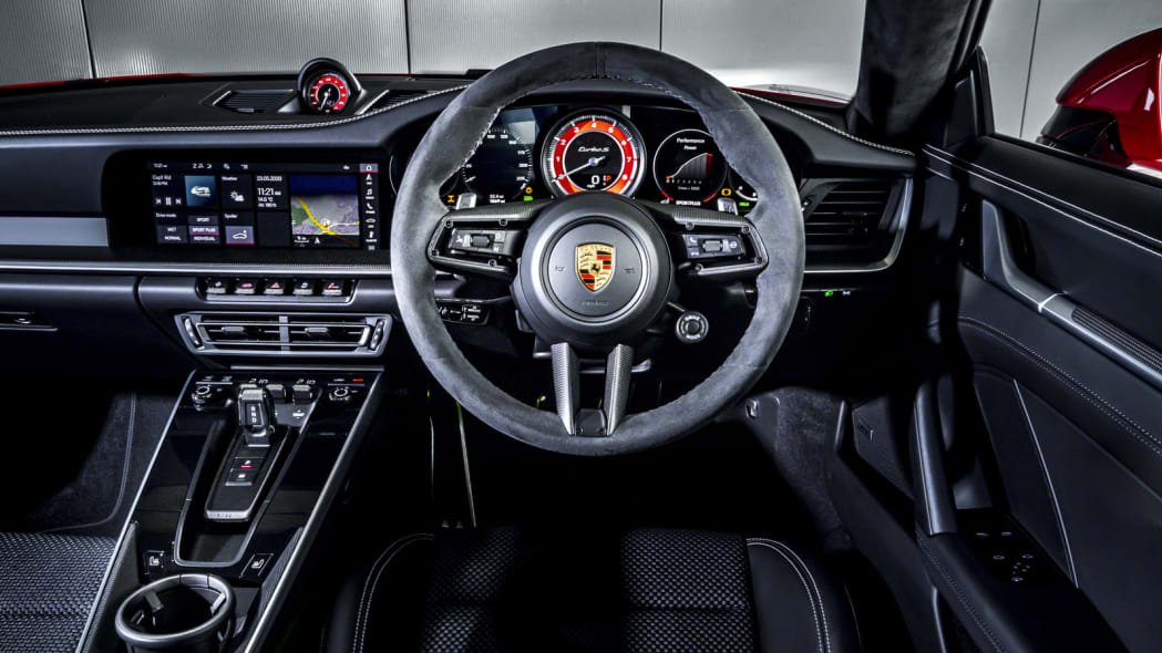 2020 Porsche 911 Turbo S dash