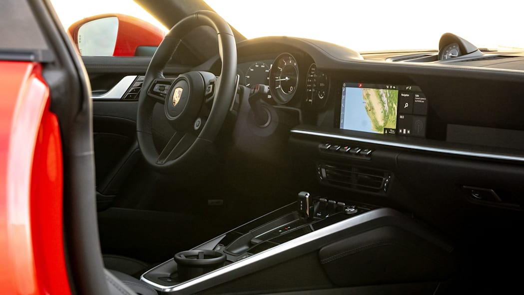 2020 Porsche 911 Turbo S interior