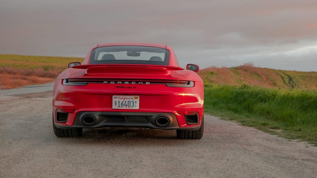 2020 Porsche 911 Turbo S rear