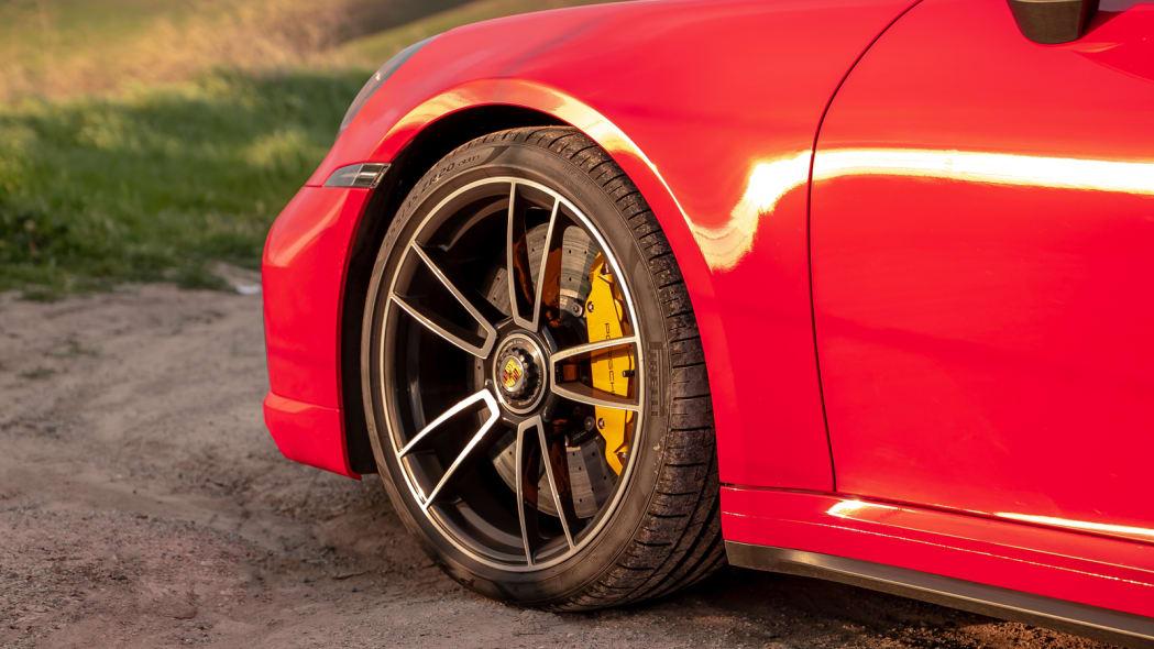 2020 Porsche 911 Turbo S wheel 2