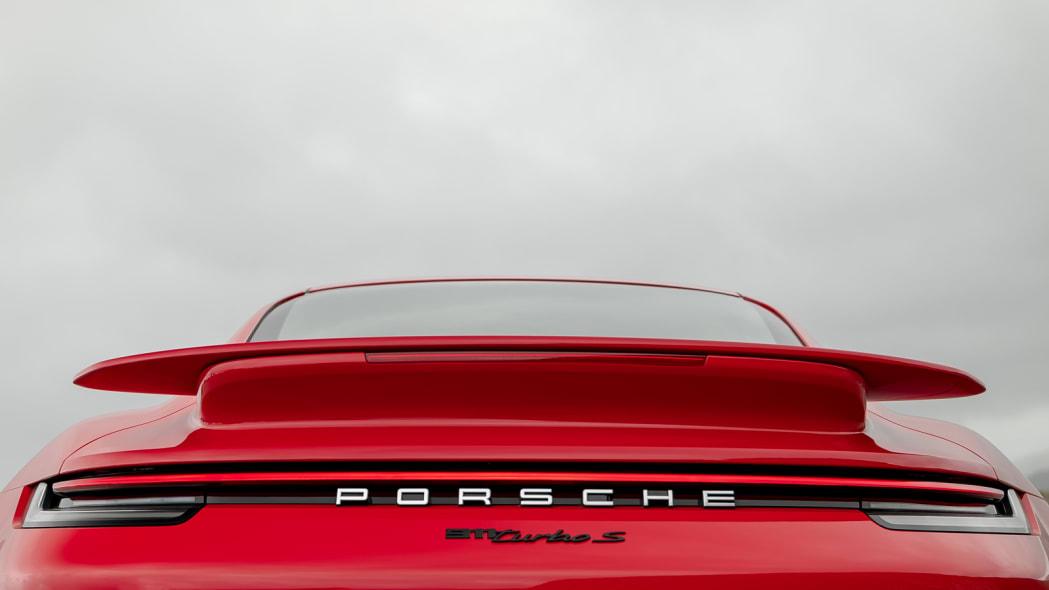 2020 Porsche 911 Turbo S arty rear